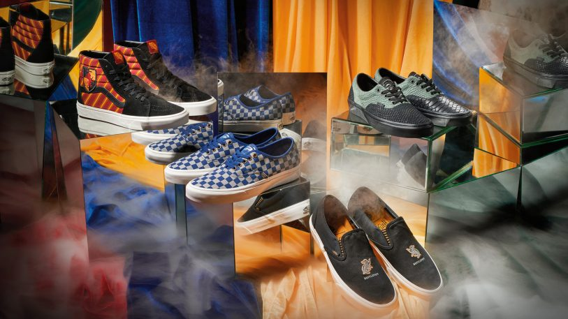 Potterheads, the magical Vans sneakers you've been waiting for, are here
