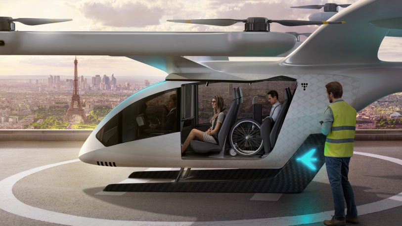 "Uber air taxi maker Embraer floats a ""simple"" new design for its flying SUV"
