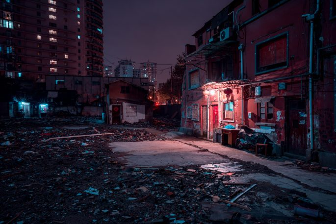 Shanghai's old streets are vanishing, and this artist is racing to document them