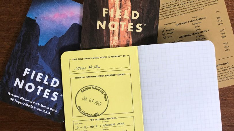 Field Notes's latest release is a love letter to our national parks
