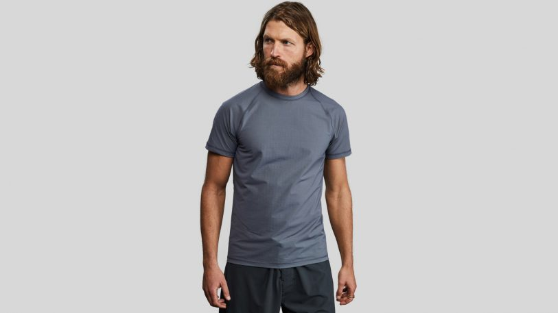This T-shirt is made from carbon fibers usually found in jet engines