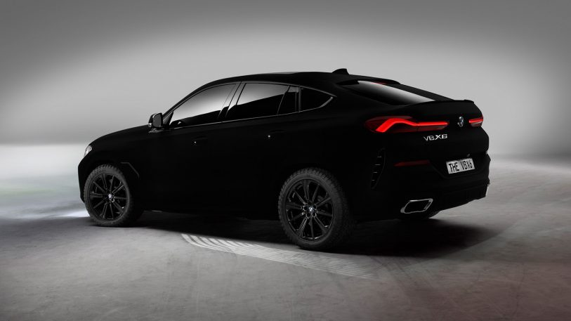 "The first car painted with the world's ""blackest black"" is deeply unsettling"