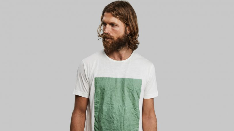 When you're done with this T-shirt, bury it. It turns into worm food in 12 weeks