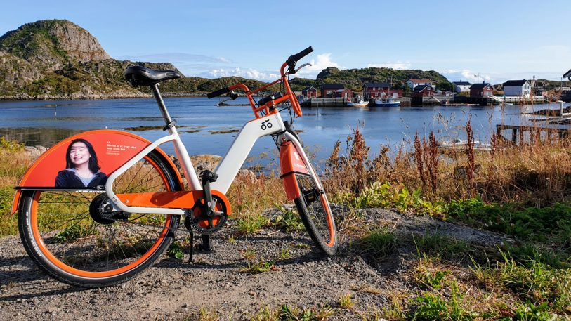 The world's smallest bike share can be found in this tiny village north of the Arctic Circle
