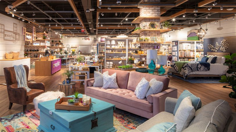 Wayfair sells 14 million products. Here's what its first-ever store is like