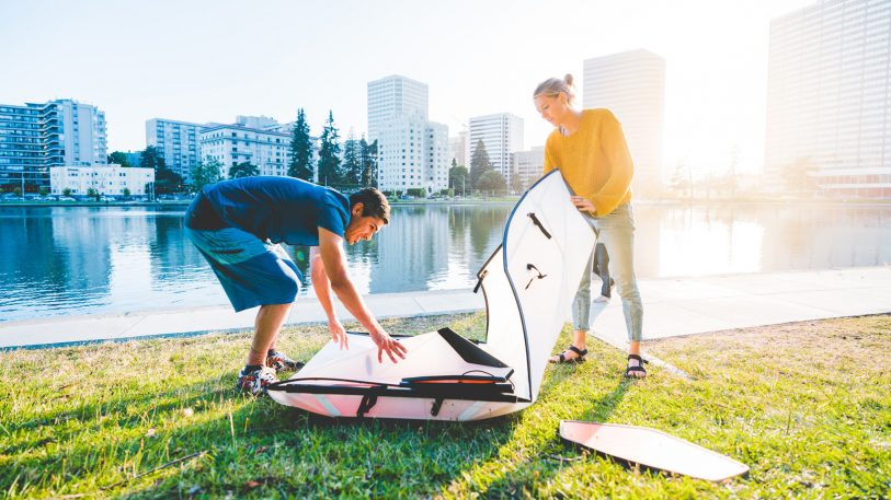The origami kayak is back, and it's lighter (and cheaper) than ever