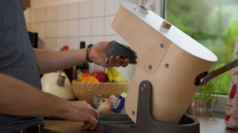 This KitchenAid mixer alternative is powered by hand
