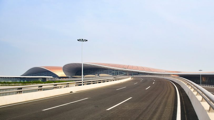 The world's next mega-airport, $17B in the making, opens in Beijing