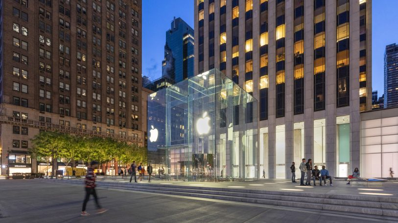 A first look inside Apple's luminous new flagship store