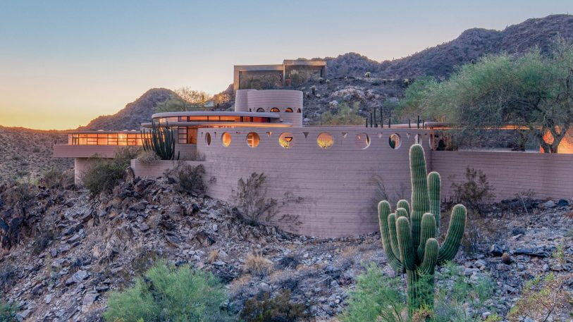 Frank Lloyd Wright's last home is being sold at auction with no minimum
