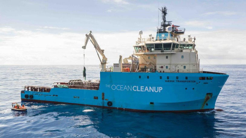 The Ocean Cleanup device is finally catching plastic