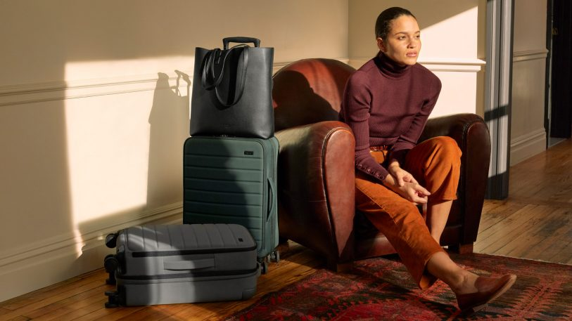 Away is going after Americans (and their love of carry-ons) with its new bags