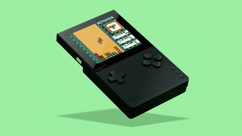 This new gaming device is like a Game Boy for design snobs