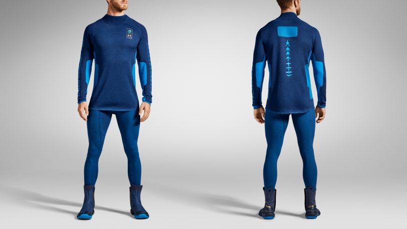 Under Armour and Virgin Galactic unveil world's first commercial space suit