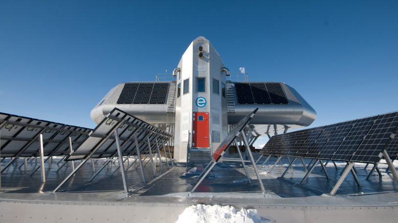 Sustainable living lessons from Antarctica's first zero-emission research station
