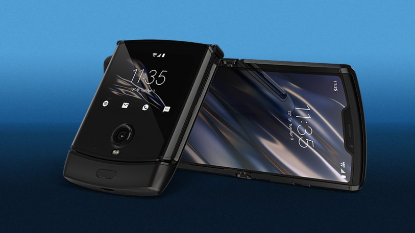 Motorola's wild new Razr is basically an iPhone that folds in half