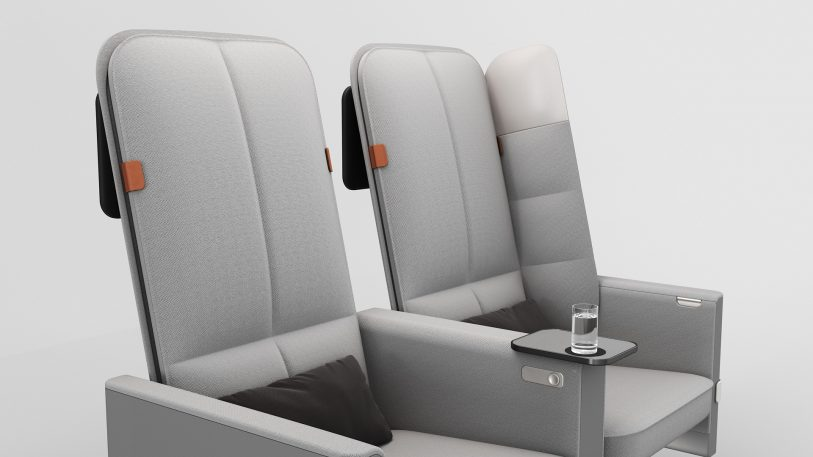This ingenious airline seat will make flying coach less awful
