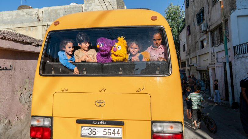 Sesame Street's newest show is designed to help kids displaced from Syria