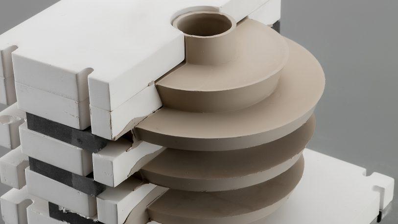 Ceramics get a futuristic makeover