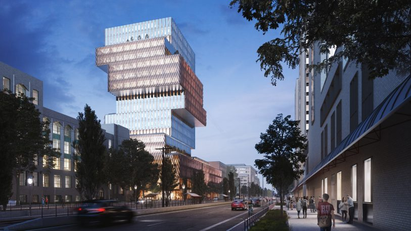 Boston University is building the city's largest carbon-neutral, fossil fuel-free building